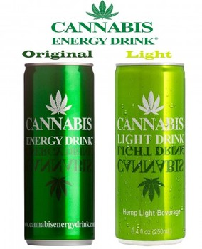 CANNABIS ENERGY DRINK Design Inspirations