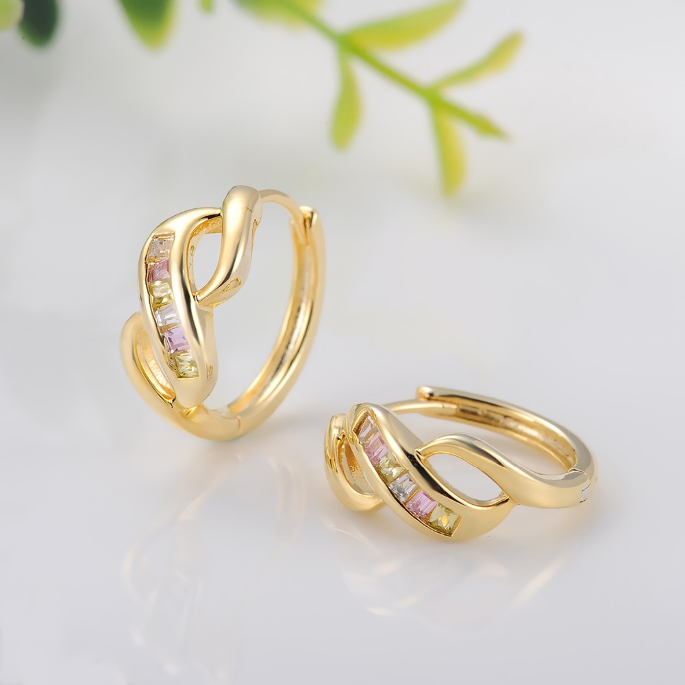 Simple Arabic Gold Earring Designs For Women - Buy Arabic Gold ...