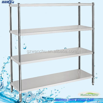 4 Tiers Stainless Steel Kitchen Utensil Rack Stainless Steel Stand Buy Stainless Steel Stand Storage Shelf Kitchen Stainless Steel Shelves Product
