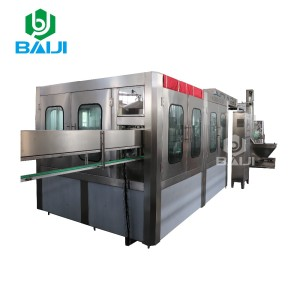 Cost mineral water manufacturing plant / PET bottle washing filling capping machine / bottling line / filler capper labeler