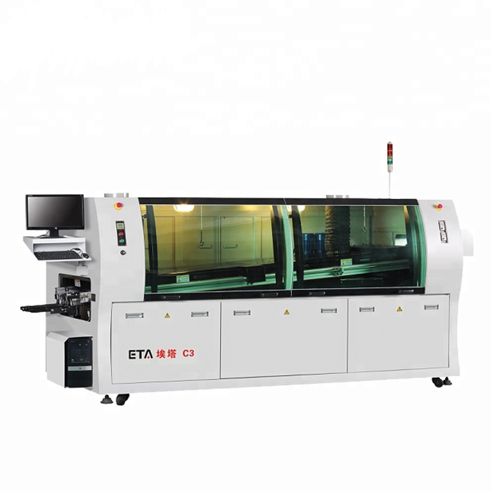 High Precision LED Making Manufacturing Machine SMT Lead Free Wave Soldering W3