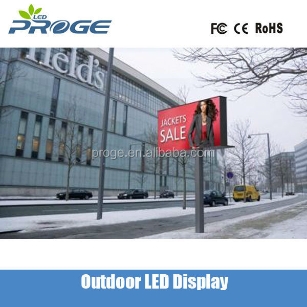p10 outdoor advertising full color electronic led light board