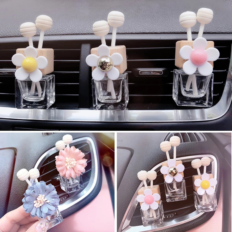 Car Perfume Clip Glass Bottle Air Conditioning Vent Perfume Clip conditioning air clip car air outlet aromatherapy perfume