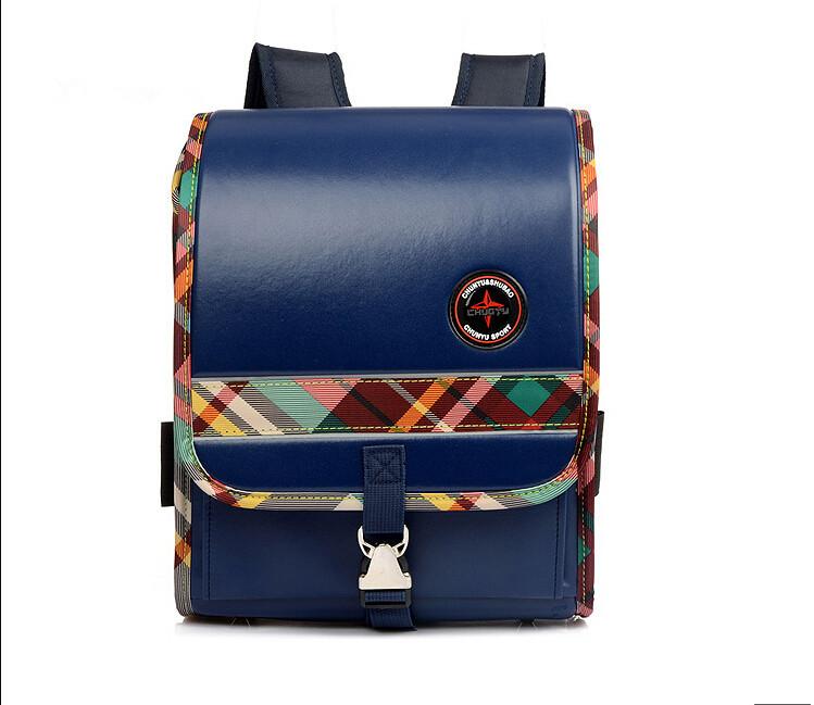Get Quotations · Kid Schoolbag New Leather Orthopedic Rucksack Children  School Bag Mochila Escolar Book School Backpack Boy Girls 6934373f220cb