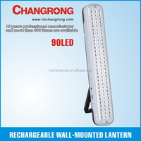 Rechargeable wall mounted light