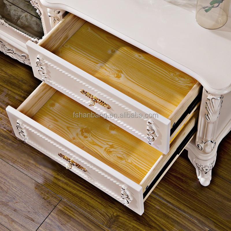 luxus neuesten design elfenbein handgeschnitzten holz mdf. Black Bedroom Furniture Sets. Home Design Ideas