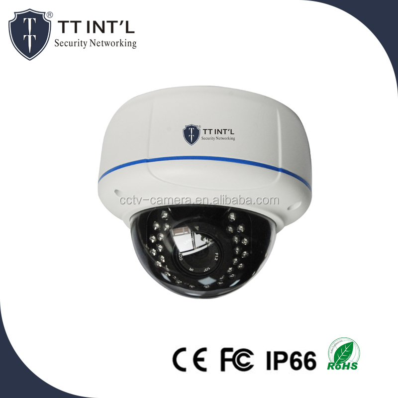 4.0 Mega Pixel Vandal Proof Varifocal Metal IR IP Dome Camera