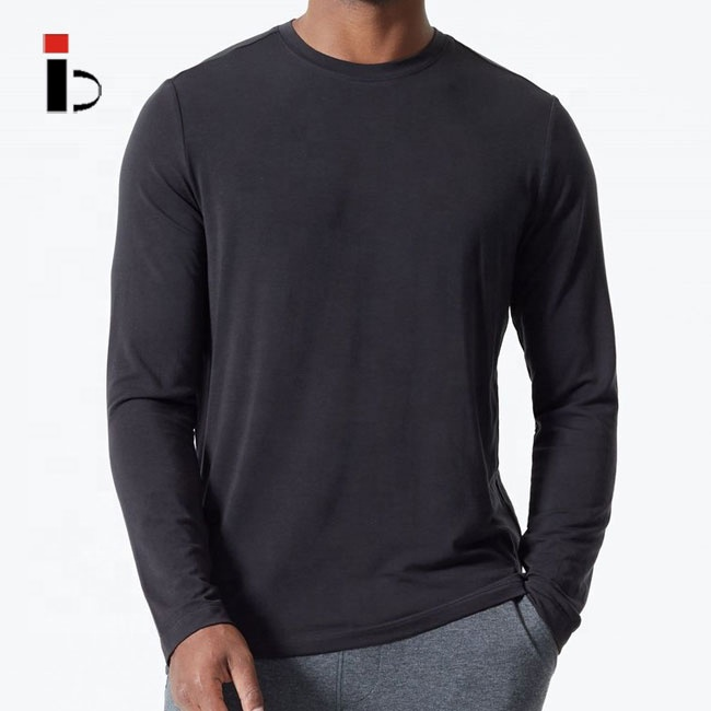 Casual crew neck long sleeve t shirt for <strong>men</strong>