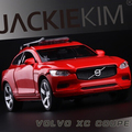 New Volvo XC couple 1 32 car model kids toy XC90 SUV Double Horses pull back