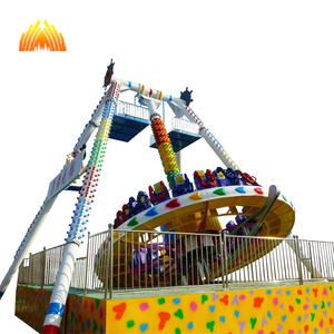 amusement big outdoor games ride swing big pendulum rotating pendulum clock