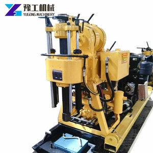 2500kg pull force winch spt core testing drilling rig with mud pump