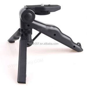 2in1 Mini Folding Tripod + Hand Grip,NO.209 small tripod
