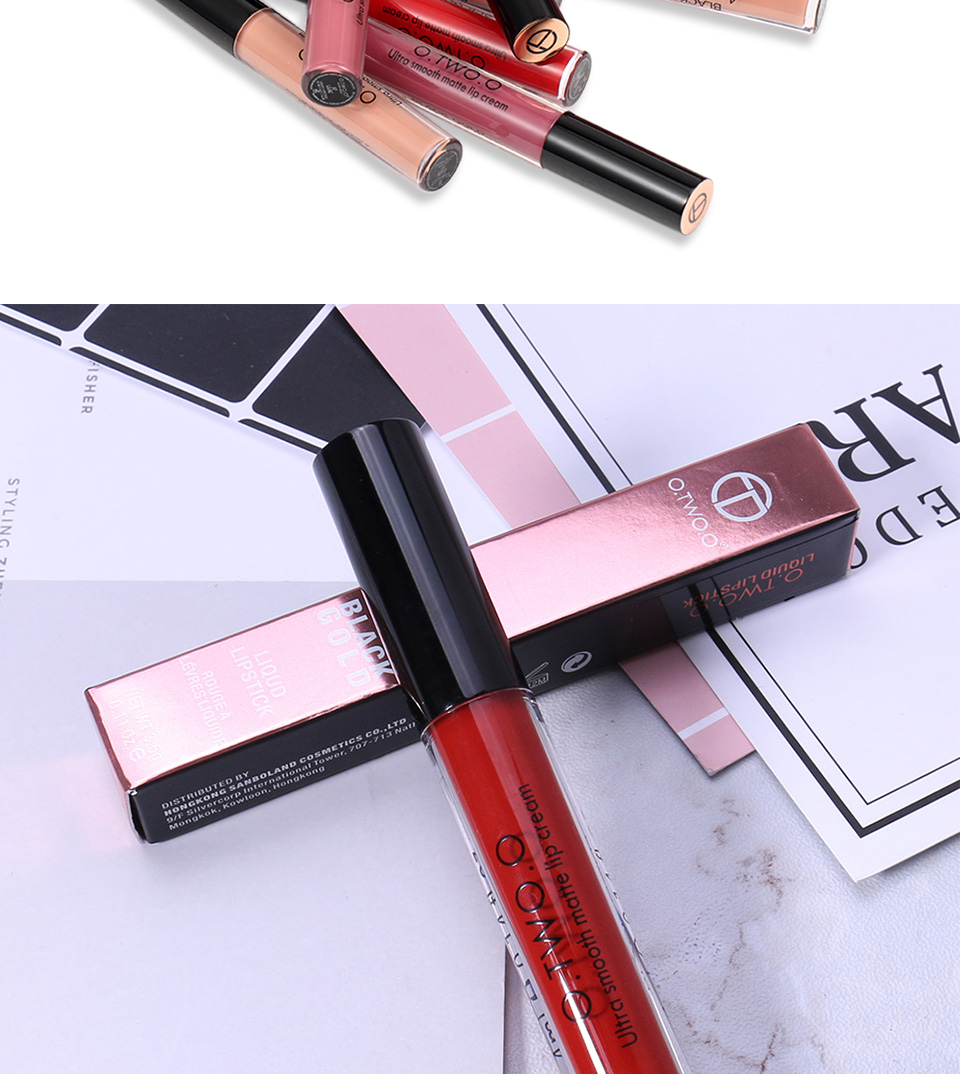 Exceptional Quality Factory Price Waterproof Fashion Color Lip Gloss Matte Lipgloss
