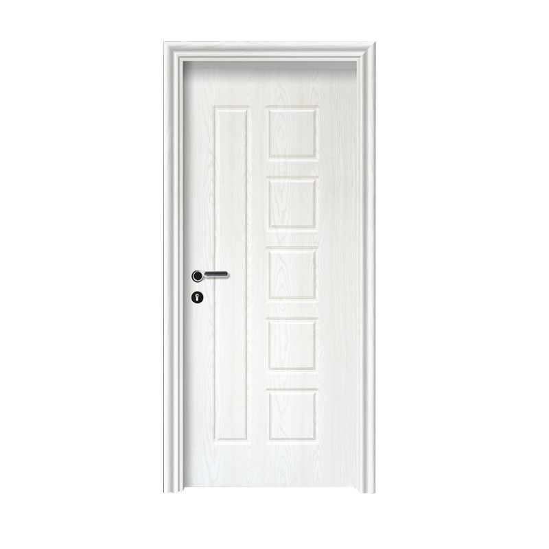 Laminate pvc coated wooden <strong>door</strong> composite mdf interior <strong>door</strong>