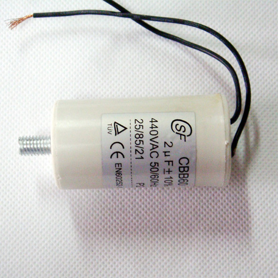 11uf con cable condensador CBB60