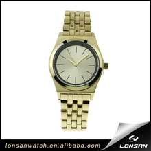 Support ODM OEM gold alloy case strap lady japan quartz multifunction mechanical watch movement