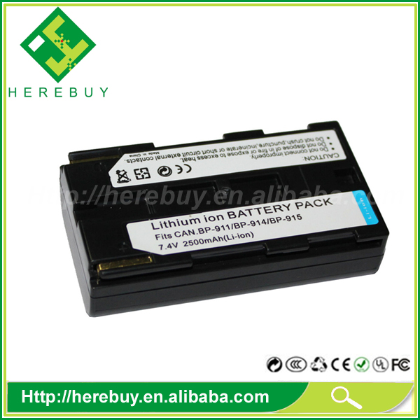 Large Capacity 4400mAh Digital Camera Li-ion Battery BP-911 914 915 924 927 929 930 941 945 for Canon