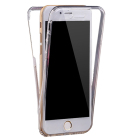 Mobile Phone Clear 360 Degree Front and Back TPU Case for 7/7plus/6/6S,6plus/6s plus,iphone5/5s/se