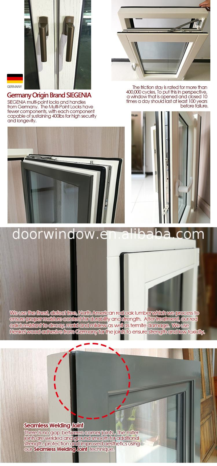 Factory made building window american windows aluminum wood