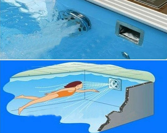 Endless Swimming Exercise Equipment Counter Jet Unit