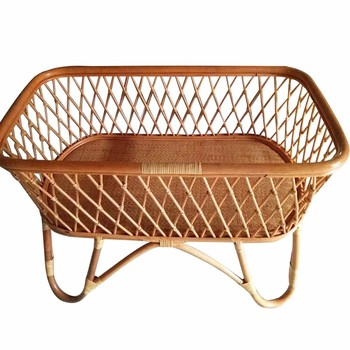 New Design Rattan Baby Cradle Baby Crib Baby Bed Buy Rattan