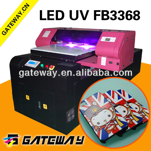 Guangzhou A1 3d stereoscopic multicolor glass uv flatbed printer