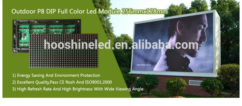 very competitive price outdoor full color p6 SMD3535 human billboard advertising led display