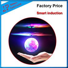 2017 Fashion Kids Toy Flying Ball LED Flashing Light