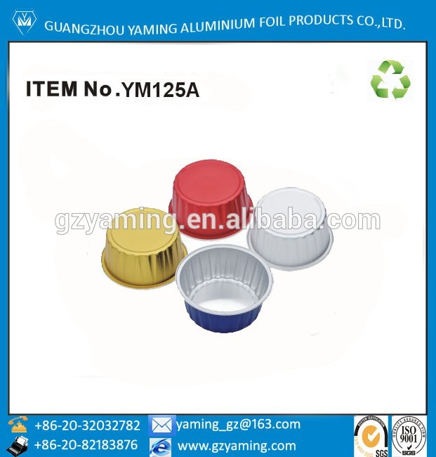 foil container wholesale aluminum baking cup