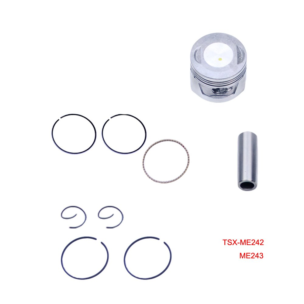 Cheap Honda 70cc For Sale Find Deals On Line At 1970 Ct70 Spark Plug Get Quotations 47mm Bore Piston Ring Kit Crf70f Xl70 Xr70 C70 Atc70 Cl70