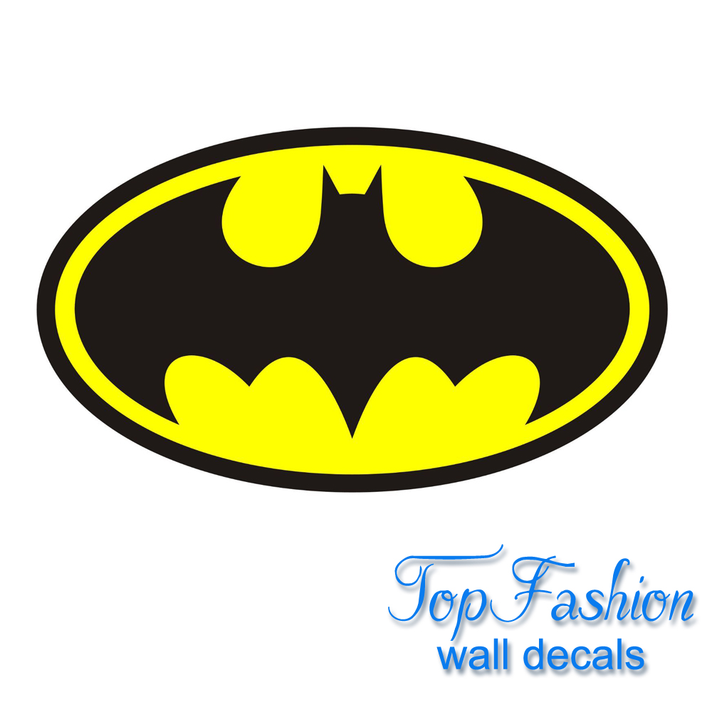 compra superhero logotipo pegatinas online al por mayor de china mayoristas de superhero. Black Bedroom Furniture Sets. Home Design Ideas