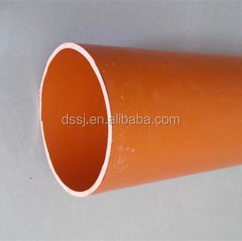 Hot Sale UV Resistance PVC Conduit Pipe/Orange/Black/White Conduit & Hot Sale Uv Resistance Pvc Conduit Pipe/orange/black/white Conduit ...