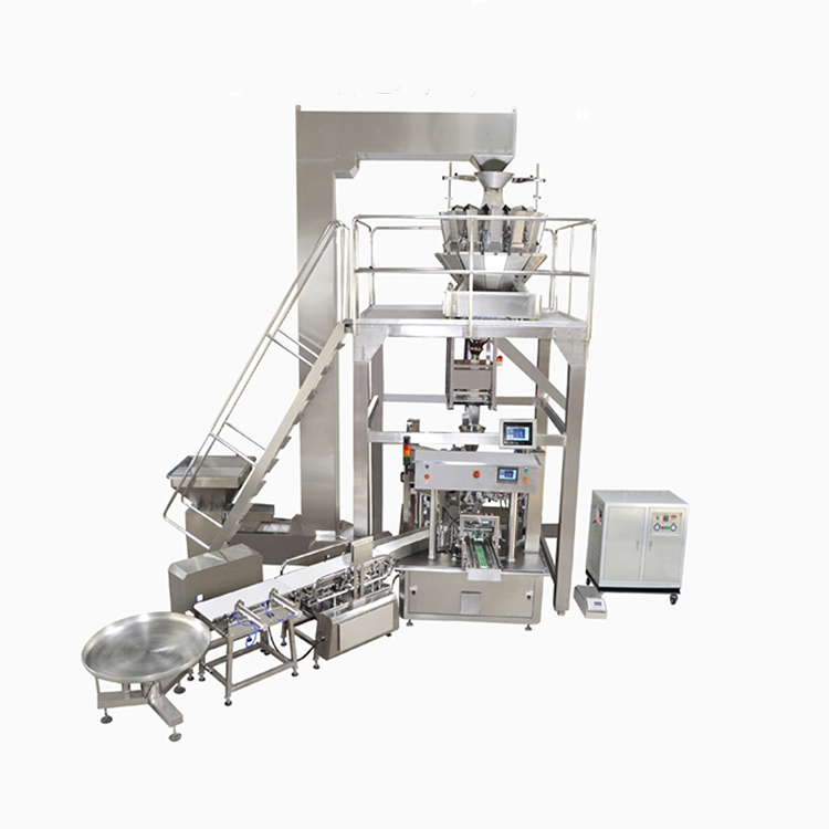 Smart Weigh pack head liquid packing machine customization for food weighing-4