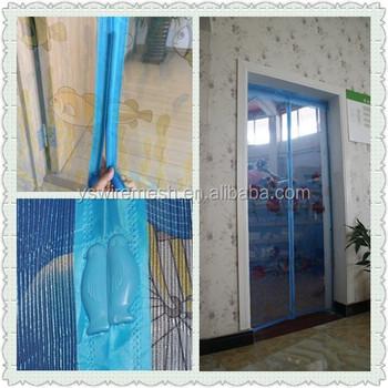 Anti Mosquito Magnet Mesh Door Screen