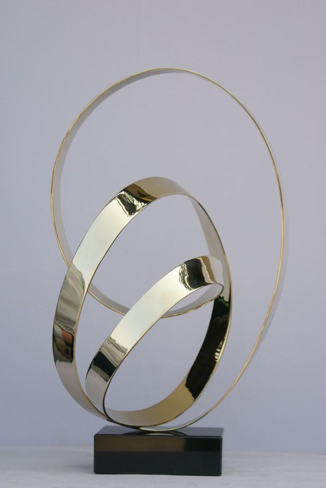2014 moderne dekoration gegenstände aus metall hand skulptur für, Modern Dekoo