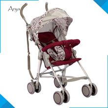 360 Angle bob jogging boy baby strollers 3 in 1 Travel System light PU Foldable Pram pushchair tricycle with bell