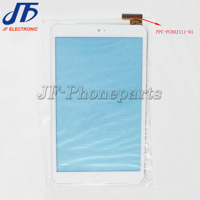 jfphoneparts 8 inch tablet touch Screen Glass Digitizer For FPC-FC80J111-01