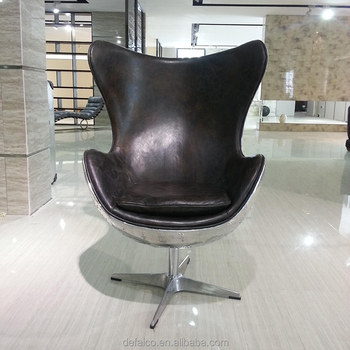 Delicieux Aluminium Retro Aviator Egg Chair Replica Flag