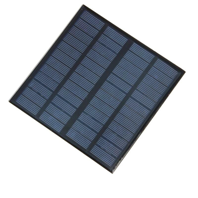 3.5 W Carregador Solar Policristalino de Células