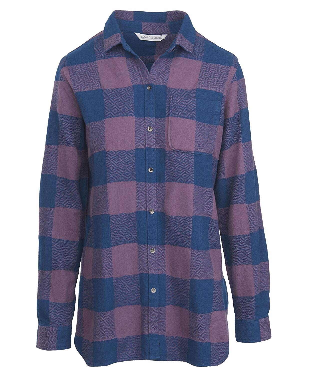 3b430fe263e Get Quotations · Woolrich Women s Oxbow Bend Tunic Flannel Shirt