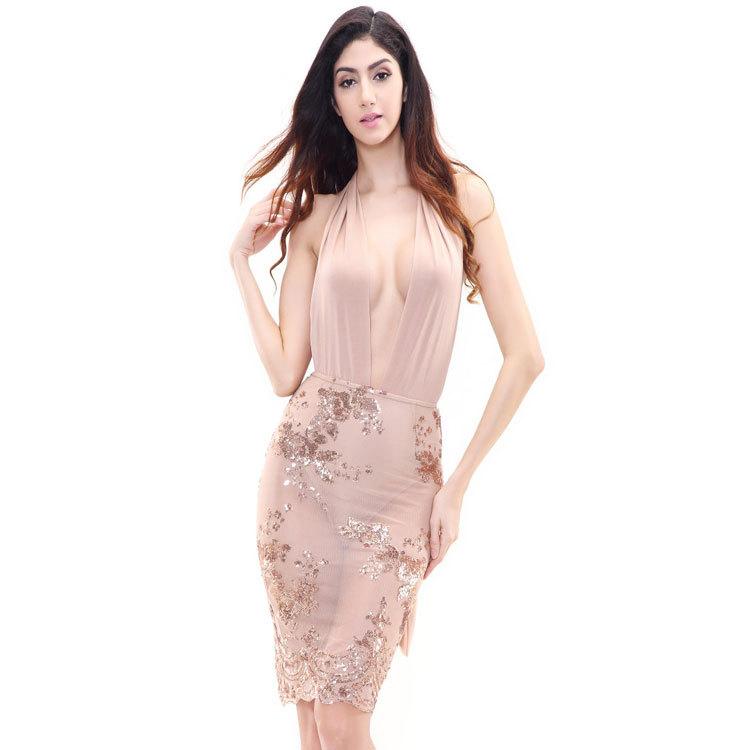 Venta al por mayor vestidos de fiesta abiertos de la cintura-Compre ...
