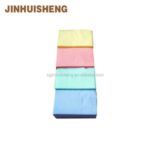 2018 Household item microfiber cleaning cloth /non woven cleaning cloth