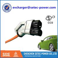 EV charger Combo cords type 2 CCS connectors