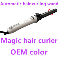 2017 Electric auto magic curling iron in style hair curler with LCD display