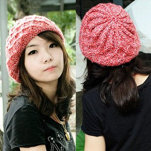 Fashion Knitted Beret Hat - Buy Fashion Ladies Knitted Hats 04310114fff