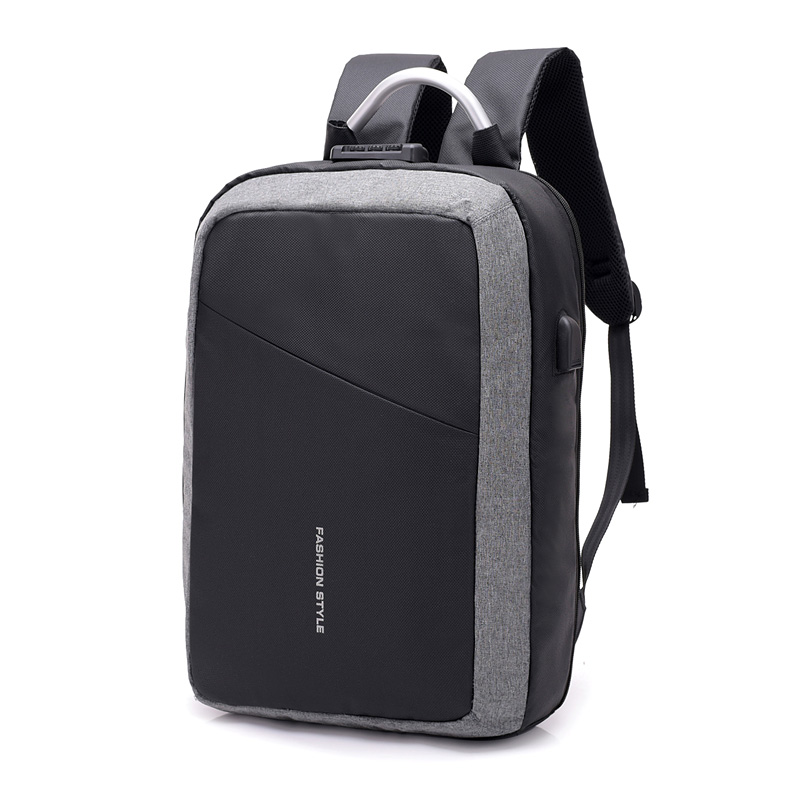 2019 Custom wholesale back pack Waterproof Anti-theft USB Charging Laptop Backpack Anti theft Business Laptop Bags