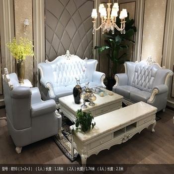 Clic Style Import Italy Leather Sofa