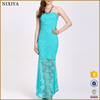Latest Design Fashion Off Shoulder Sexy Lace Maxi Dress