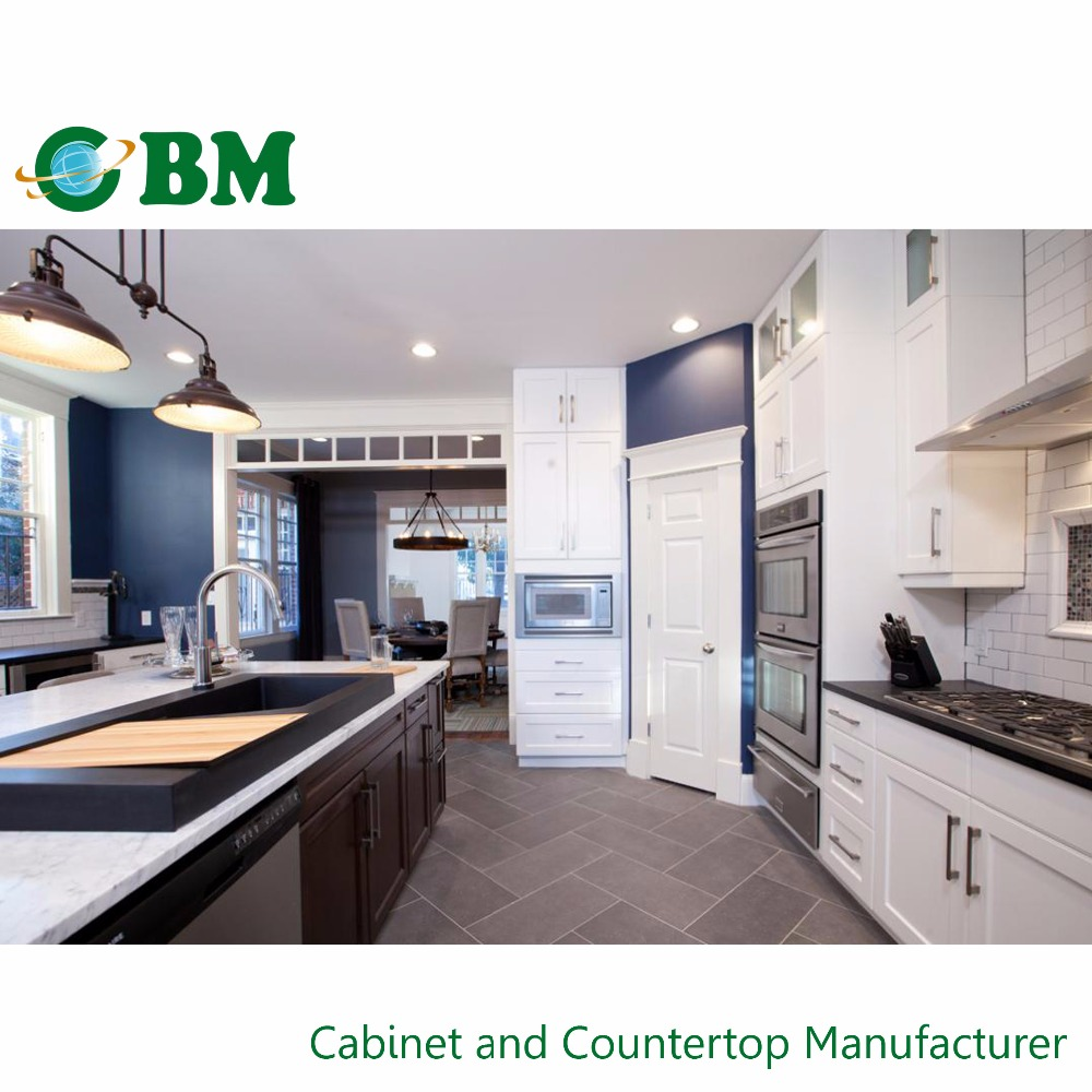 Ready To Installation Prefabricated Kitchen Cabinets 2016
