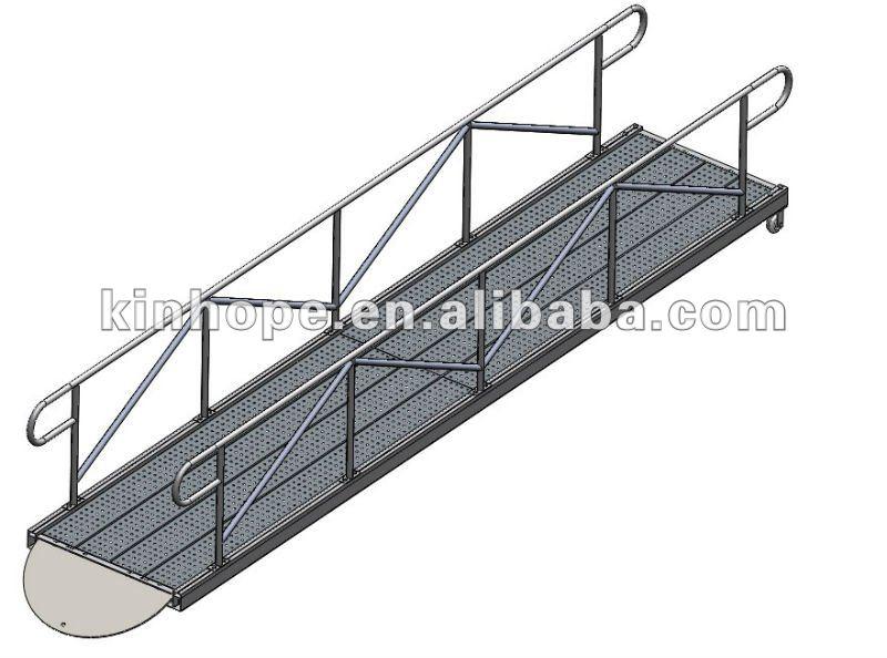 8m Long Aluminum Marina Gangway With Rails Buy Gangway